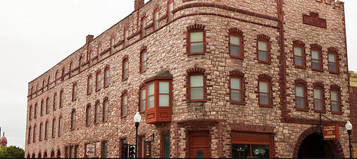 The Historic Calumet Inn Hotel founded & built in 1888